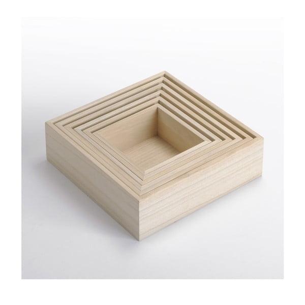 Drevený box Caisses 6 v 1