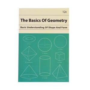 Zápisník s geometrickými tvarmi vo formáte A5 linajkový Rex London, 60 strán