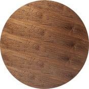 Orechovohnedá doska na stôl Kare Design Invitation Round, ⌀120 cm