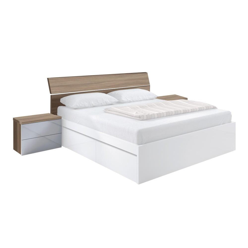 1ebec62817f2 Set čela postele a 2 nočných stolíkov 13Casa Winter