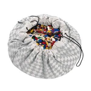 Podložka na hranie a vrece na hračky v jednom Play & Go Diamond Grey