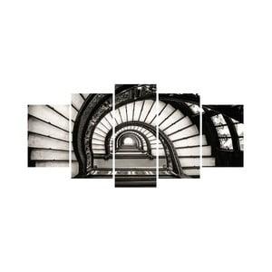 Viacdielny obraz Black&White no. 92, 100x50 cm