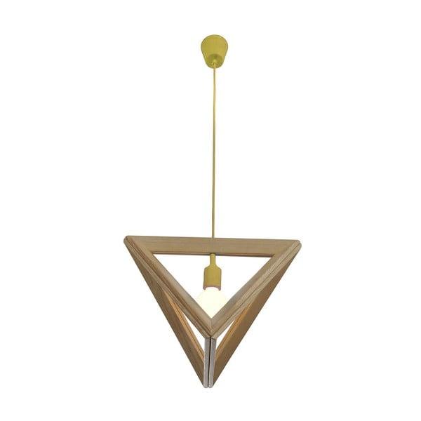 Závesné svietidlo Triangle Yellow