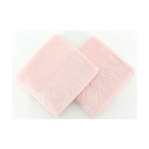 Sada 2 uterákov Burumcuk Pink, 50x90 cm