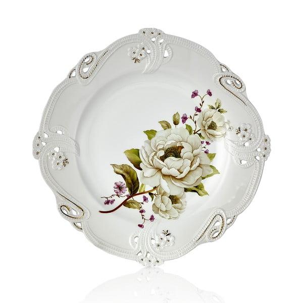 Sada 6 porcelánových tanierov Franz Heinz, Ø 23,5 cm