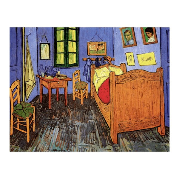 Obraz Vincenta van Gogha - Vincent's Bedroom in Arles, 50x40 cm