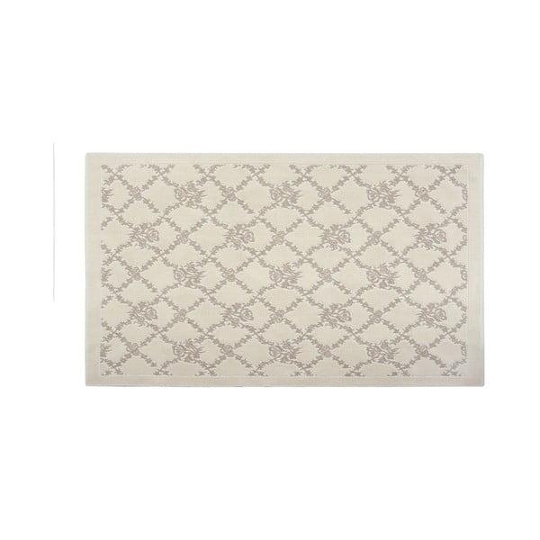 Bavlnený koberec Mira 120x180 cm, krémový