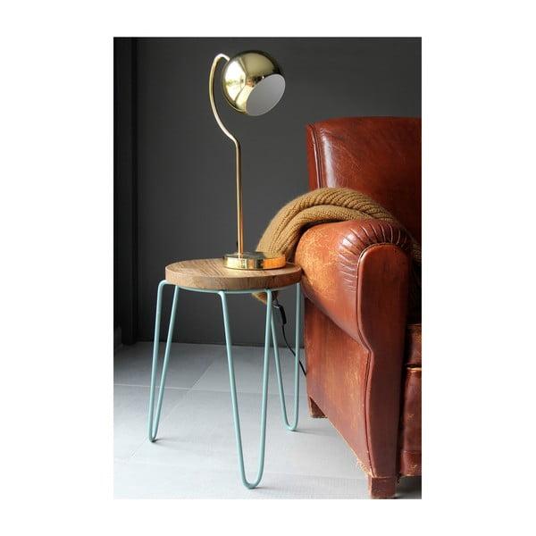 Zlatá stolová lampa Red Cartel Shabby