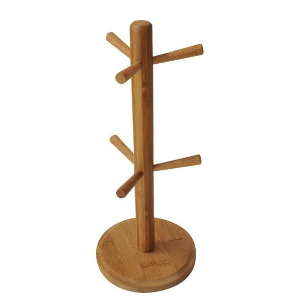 Bambusový stojan na hrnčeky Bambum Fuchia