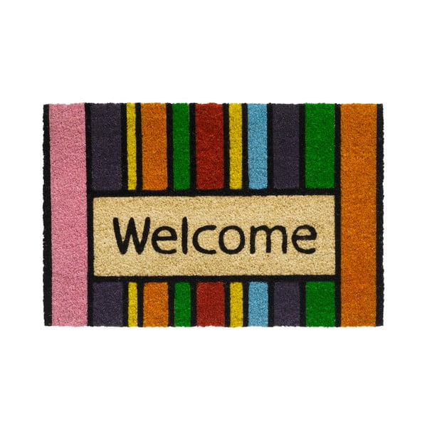 Rohožka Hamat Welcome in Stripes, 40 x 60 cm