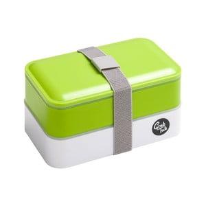 Zelený desiatový box Premier Housewares Grub Tub