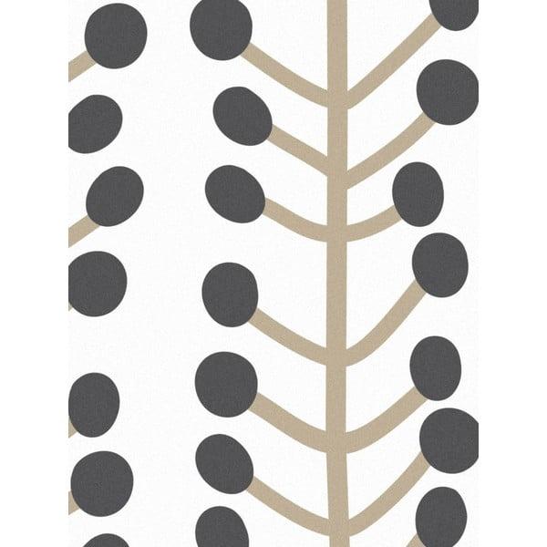 Vliesová tapeta Herbs White, 0,53x10,05 m