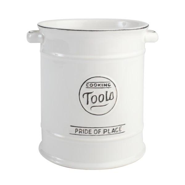 Biela keramická dóza na kuchynské náradie T&G Woodware PrideofPlace