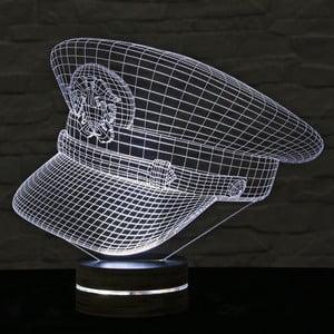 3D stolová lampa Captain