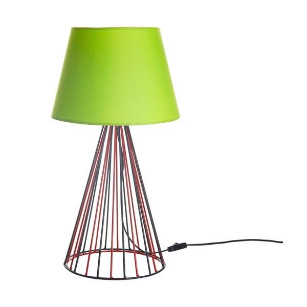 Stolová lampa Wiry Lime/Red/Black