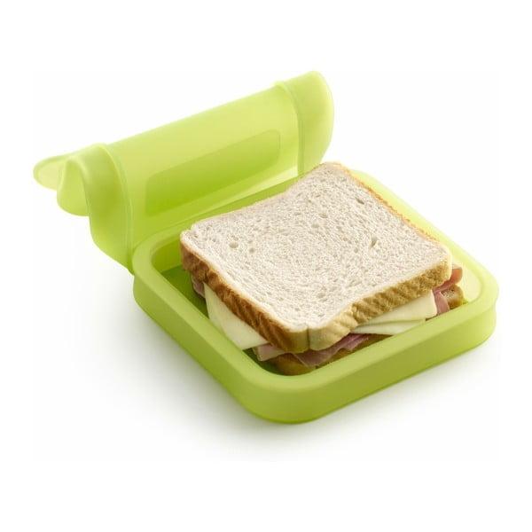 Silikónový obal na sendvič Lékué, zelený