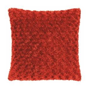 Červený vankúš Tiseco Home Studio Curl, 45 × 45 cm