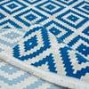 Koberec Munico Azul, 120 x 170 cm