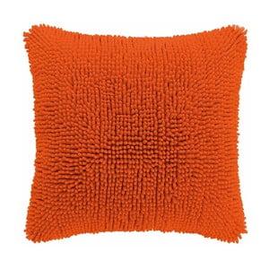 Oranžový vankúš ZicZac Shaggy