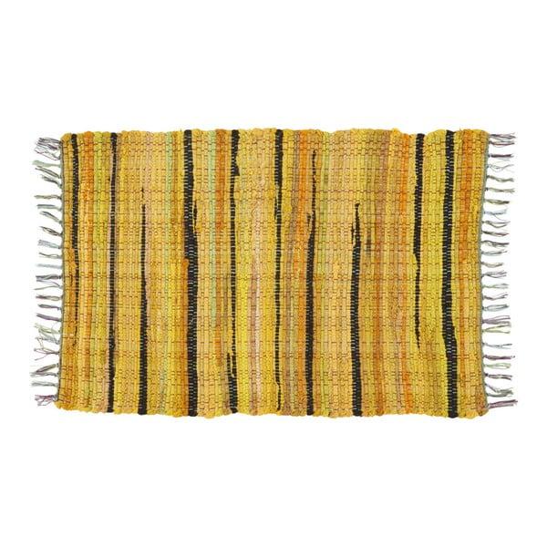 Koberec Athezza Bana Yellow, 60x90 cm
