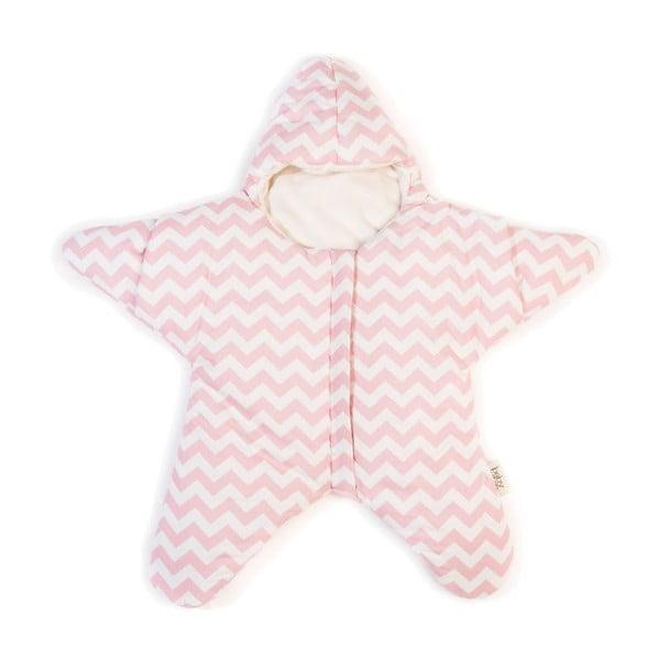 Detský spací vak Star Light Pink M