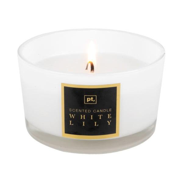 Sviečka s vôňou bielej ľalie PT LIVING Scented Candle, doba horenia 27hodín