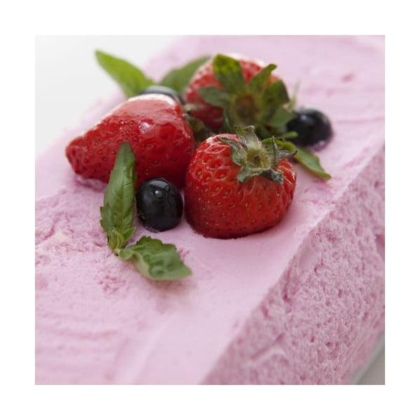 Forma na koláč s keramickým tanierom, červená