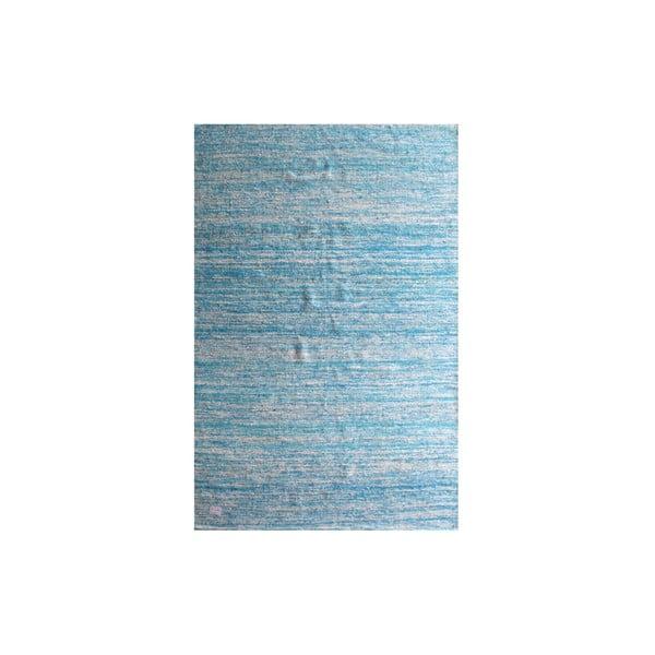 Ručne tkaný koberec Sari Silk Blue, 150x240 cm