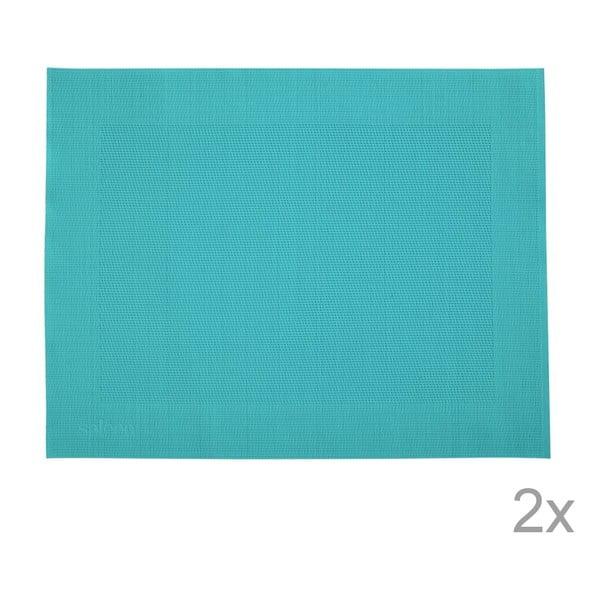 Sada 2 prestieraní Saleen Blue, 30x40 cm