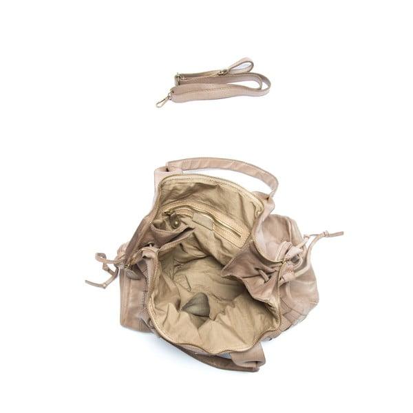 Kožená kabelka Mangotti 0007, kameň