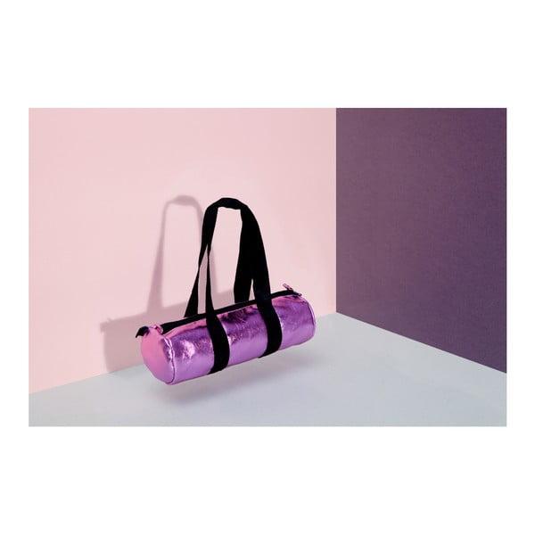 Puzdro na ceruzky  DOIY Duffle Bag Glossy Pink