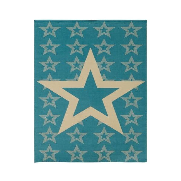 Detský modrý koberec Hanse Home Star, 140×200cm