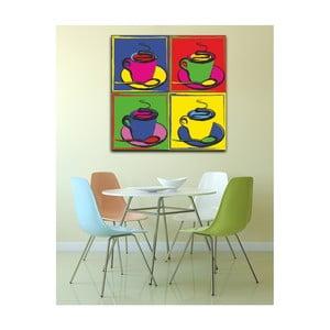 Obraz Pop Art Coffee, 50 x 50 cm