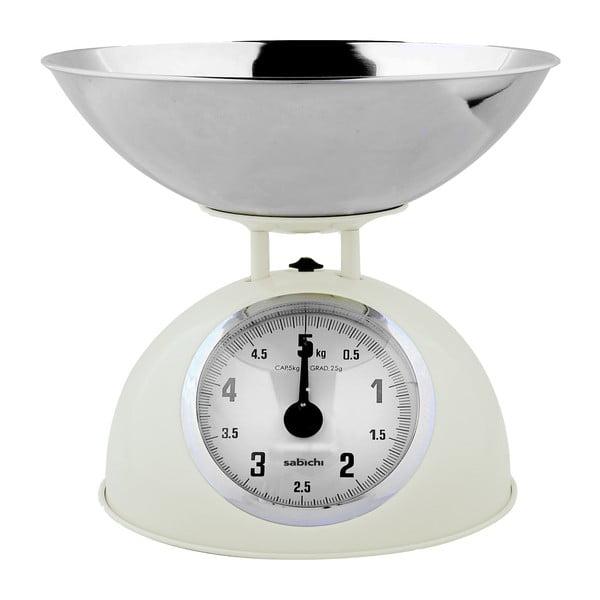 Kuchynská váha, krémová