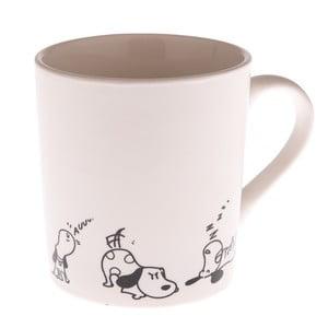 Porcelánový hrnček s psíkmi Dakls Dogs, 280 ml