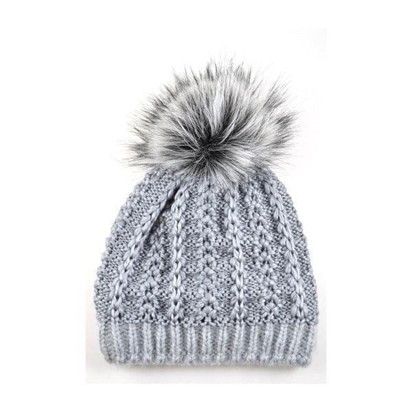 Dámska čiapka Perlik Light Grey