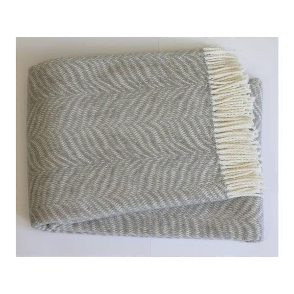Sivá deka Euromant Tiger, 140x180 cm