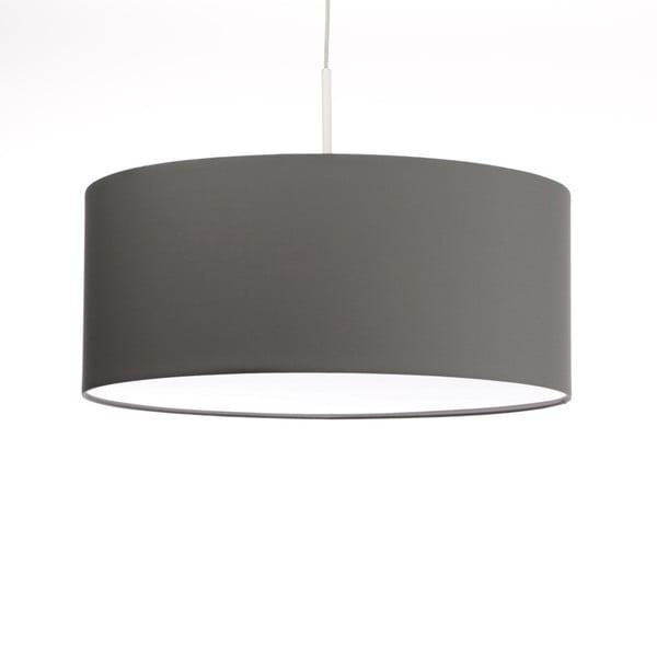 Tmavosivé stropné svetlo 4room Artist, variabilná dĺžka, Ø 60 cm