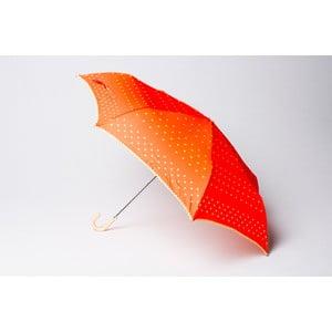 Skladací dáždnik Dots, oranžový