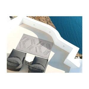Sivý koberec vhodný aj do exteriéru Weave Mujro, 155 x 230 cm