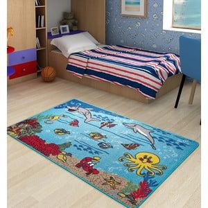 Detský koberec Underwater, 100x150 cm