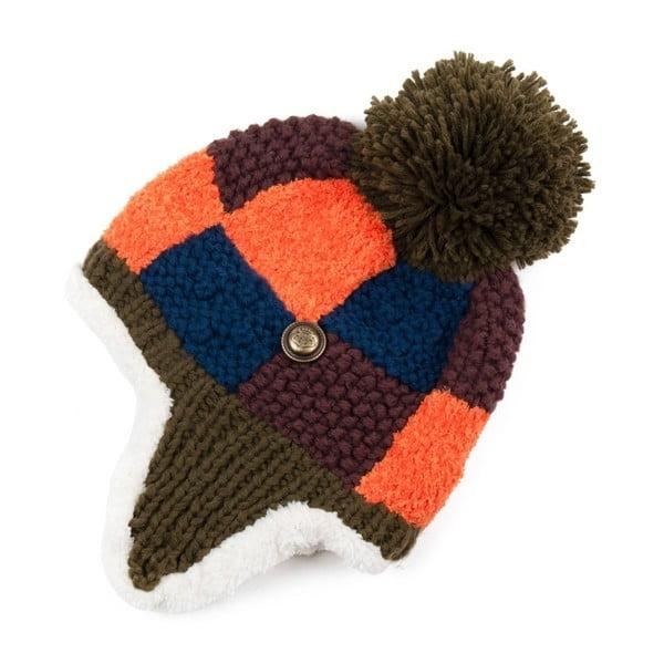 Farebná kockovaná čapica Dominique
