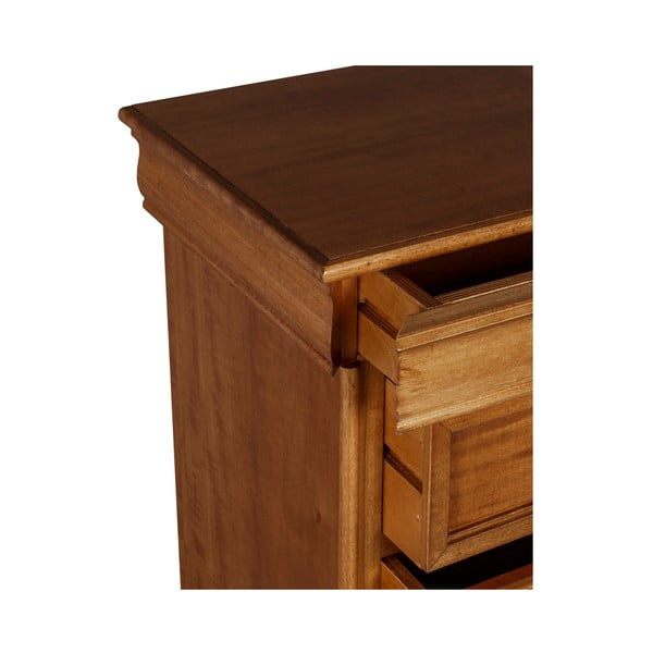 Hnedý nočný stolík Evergreen Houso Imagine