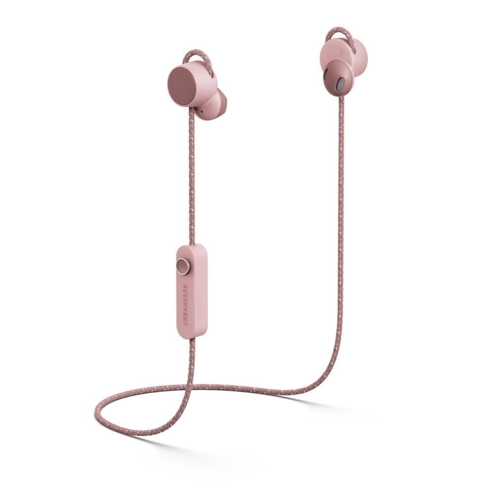 Svetloružové bezdrôtové Bluetooth slúchadlá do uší Urbanears-bené-jaakána Powder Pink