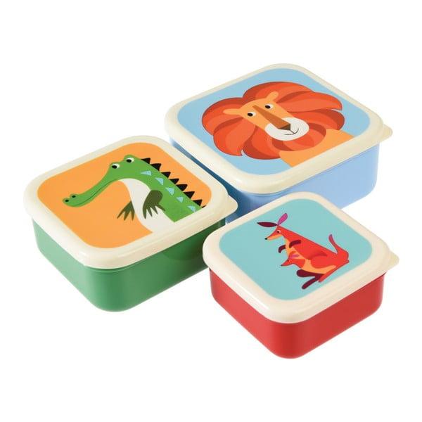 Sada 3 desiatových boxov Rex London Creatures