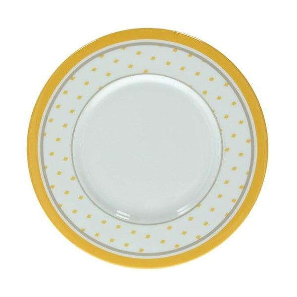 Dezertný tanier Tognana Giallo