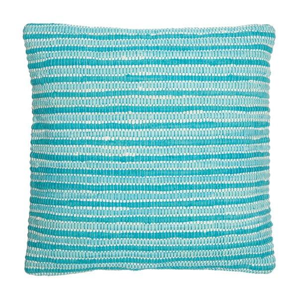 Vankúš Cotton Aqua, 60x60 cm