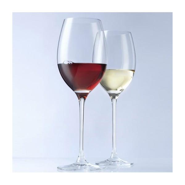 Sada 6 pohárov biele víno LEONARDO Cheers, 400 ml