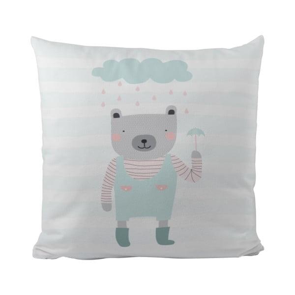 Vankúš Rainy Bear, 50x50 cm