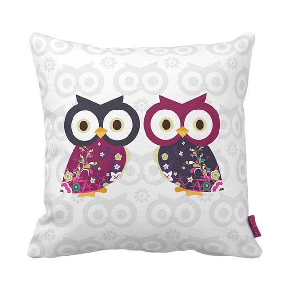 Vankúš Owls, 43x43 cm